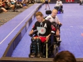Jake Saxton in the Corner - 2016 Powerhockey Cup