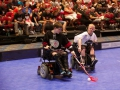 Alex Pitts Eluding a Defender - 2016 Powerhockey Cup