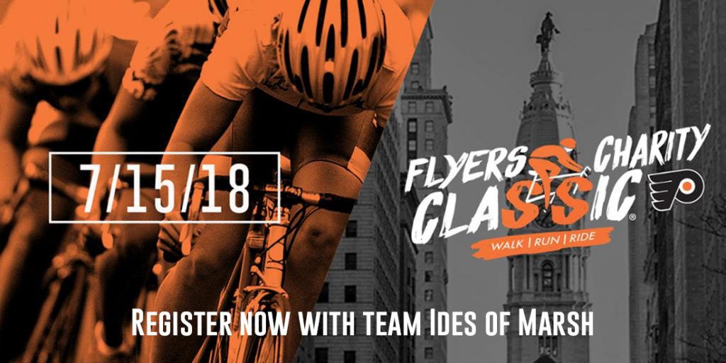 Register now for the Flyers Charity Classic.
